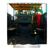 The Peerless Controll Booth Shower Curtain