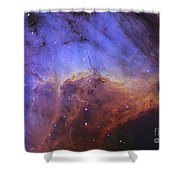 The Pelican Nebula Shower Curtain