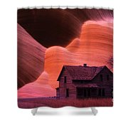 The Perfect Storm Shower Curtain by Bob Christopher