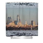 The Philadelphia Experiment Shower Curtain