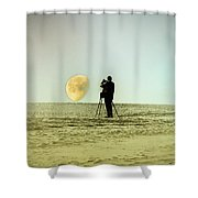 The Photographer Shower Curtain by Bill Cannon