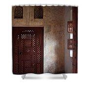 The Pink Corner Shower Curtain