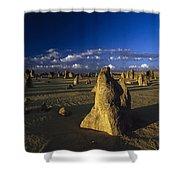 The Pinnacles Shower Curtain