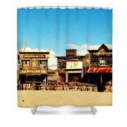 The Pioneer Hotel Old Tuscon Arizona Shower Curtain