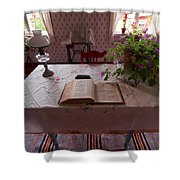 The Place Of The Bible In Kovero Shower Curtain