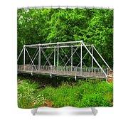 The Pony Bridge Shower Curtain