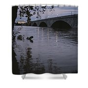 The Potomac Rivers Shower Curtain