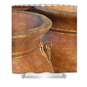 The Potters Wares Shower Curtain