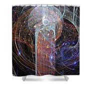 The Power Tower 1 Shower Curtain