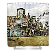 The Prater - Vienna Shower Curtain