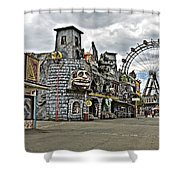 The Prater In Vienna Shower Curtain