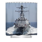 The Pre-commissioning Unit Guided Shower Curtain