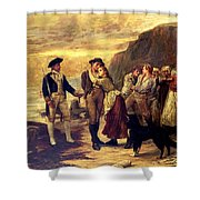 The Press Gang Shower Curtain