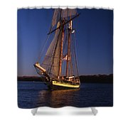 The Pride II Of Baltimore Shower Curtain