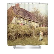 The Priest's House West Hoathly Shower Curtain