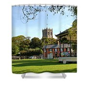 The Priory Shower Curtain