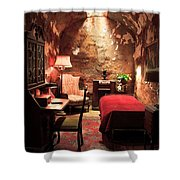 The Prison Cell Of Al Capone Shower Curtain