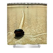 The Racetrack 5 Shower Curtain
