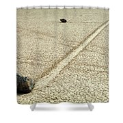 The Racetrack 7 Shower Curtain