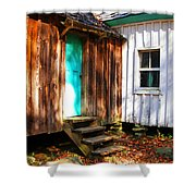 The Reagan House Kitchen Shower Curtain by Paul Mashburn