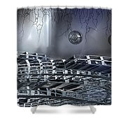 The Realm Below Shower Curtain