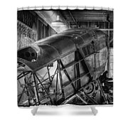 The Red Barn Of The Boeing Company IIi Shower Curtain