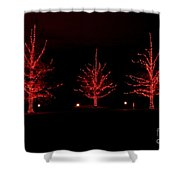 The Red Coat Shower Curtain