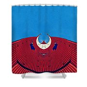 the red dress - Archifou 71 Shower Curtain