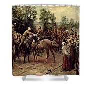 The Relief Of Ladysmith On 27th February 1900 Shower Curtain