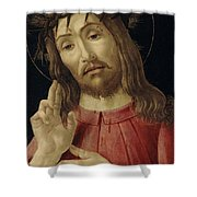 The Resurrected Christ Shower Curtain
