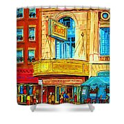 The Rialto Theatre Shower Curtain