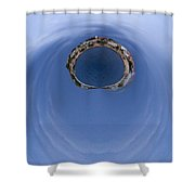 The Ring Of Primosten Shower Curtain