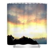 The Rising Sun  Shower Curtain