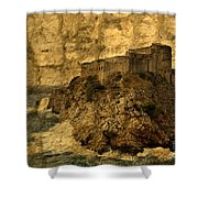 The Rock In Dubrovnik Shower Curtain