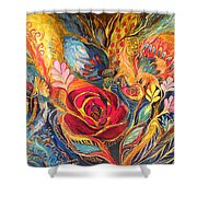 The Rose Of East Shower Curtain