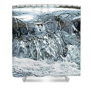 The Rough With The Smooth  Shower Curtain