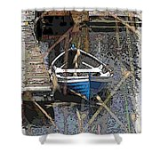 The Rowboat Shower Curtain