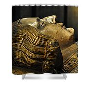 The Royal Tomb Of Count Gerard Van Gelder Iv Shower Curtain