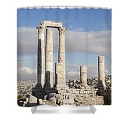 The Ruins Of The Ancient Citadel, Or Shower Curtain