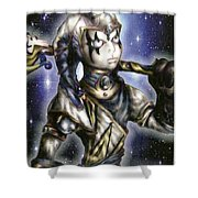 The Sapphire Of Fate Shower Curtain