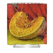 The Scent Of Autumn Shower Curtain