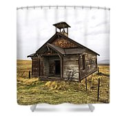 The School House Shower Curtain
