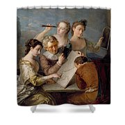 The Sense Of Sight Shower Curtain