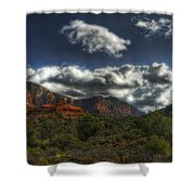 The Serenity Of Sedona  Shower Curtain
