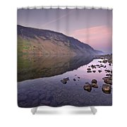 The Serenity Of Twilight Shower Curtain