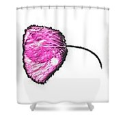 The Seven Poppies  Shower Curtain