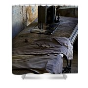 The Sewing Machine Shower Curtain