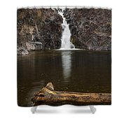 The Shallows Waterfall 2 Shower Curtain