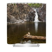 The Shallows Waterfall 3 Shower Curtain
