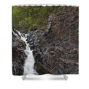 The Shallows Waterfall 4 Shower Curtain